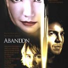 Abandon Double Sided Orig Movie Poster Double Sided