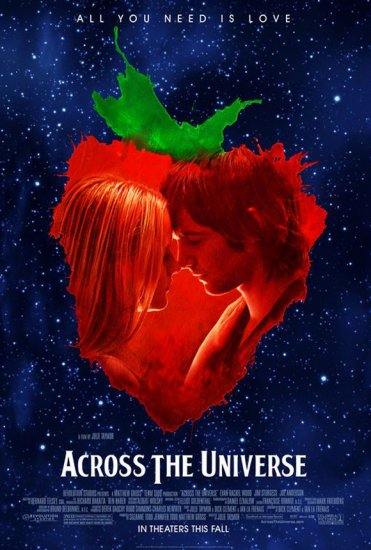 ACROSS THE UNIVERSE Movie Poster 27 X40 ORIGINAL SINGLE SIDED