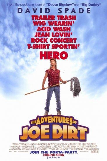 Adventures of Joe Dirt Regular Original Movie Poster 27 X40 Single Sided