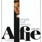 Alfie Single Sided Orig Movie Poster Single Sided 27x40