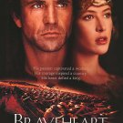 Braveheart Ver C Original Movie Poster Double Sided 27x40