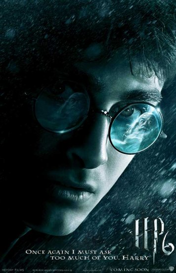 Harry Potter and the Half Blood Prince Advance Original Movie Poster Double Sided 27x40
