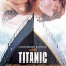 Titanic Version A French Version Movie Poster Single Sided Original 27x40