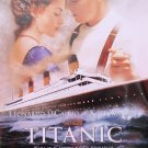 Titanic Version B Spanish Movie Poster Double Sided Original 27x40