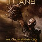 Clash of the Titans Ver B Movie Poster Double Sided Original 27x40