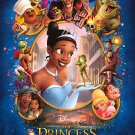 Princess and the Frog (Blue)  Original Movie Poster  Double Sided 27 X40