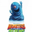 Monsters Vs Aliens Version A Original Movie Poster  Double Sided 27 X40