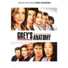 Grey's Anatomy Tv Show Poster Original Movie Poster  Double Sided 27 X40