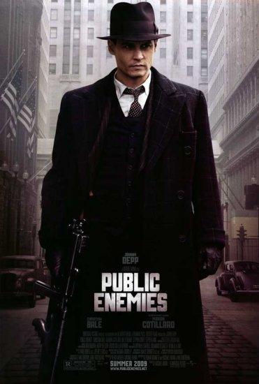 Public Enemies Original Movie Poster  Double Sided 27 X40