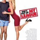 She's Out of My League Original Movie Poster  Double Sided 27 X40