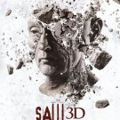 Saw 3D Head Big face Advance Original Movie Poster  Double Sided 27 X40