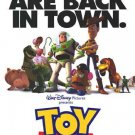 Toy Story White Original Movie Poster Double Sided 27x40