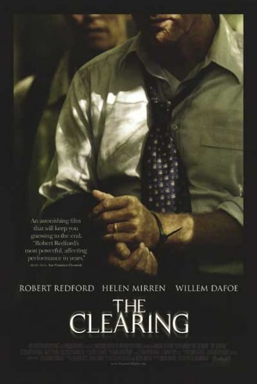 Clearing  Original Movie Poster Double Sided 27 X40