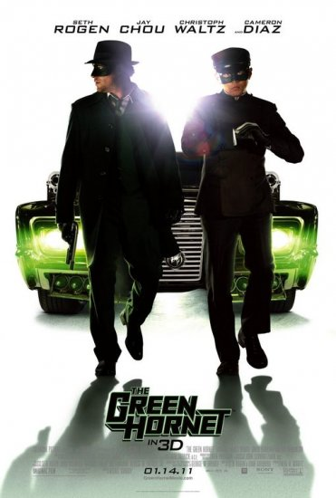 Green Hornet Version B Original Movie Poster  Double Sided 27 X40