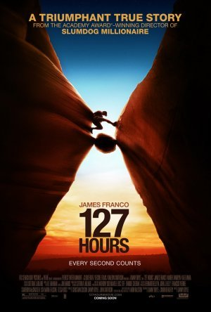 127 Hours Advance Original Movie Poster  Double Sided 27 X40