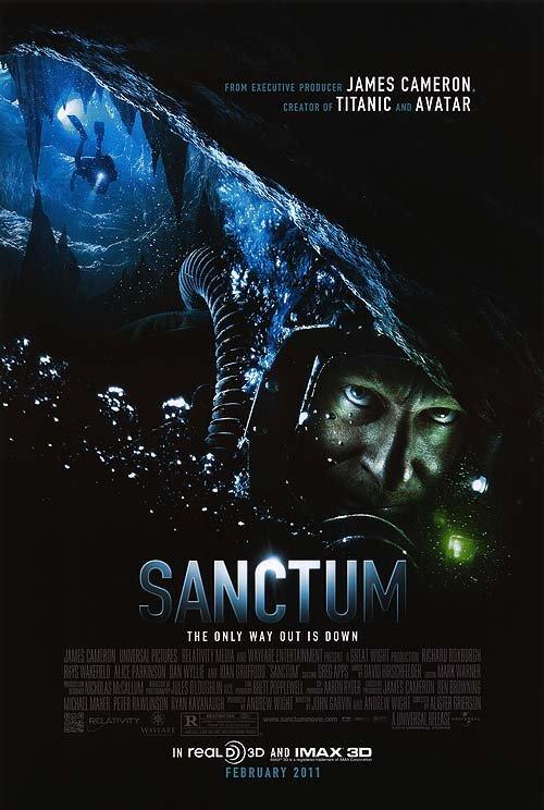 Sanctum Original Theatrical Movie Poster  Double Sided 27 X40