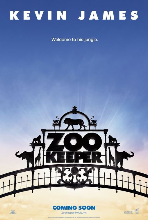 Zookeeper Original Theatrical Movie Poster  Double Sided 27 X40