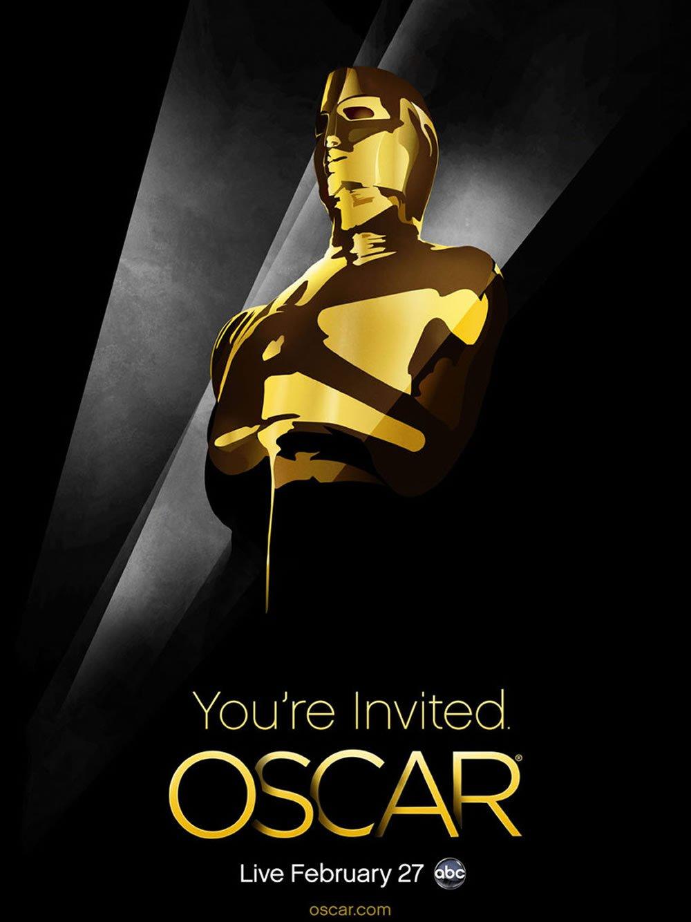 Oscar Academy Award 2011 Poster Original Theatrical Movie Poster Single Sided 27 X40