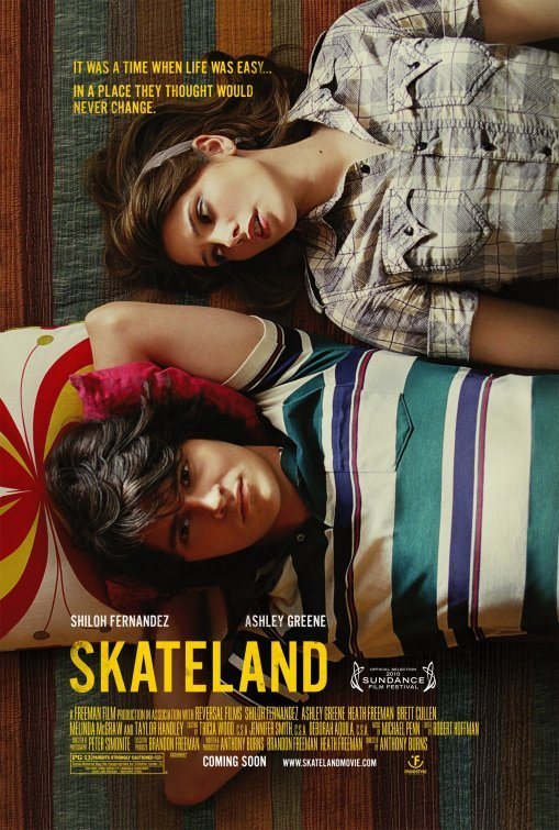 Skateland Original Movie Poster  Double Sided 27 X40