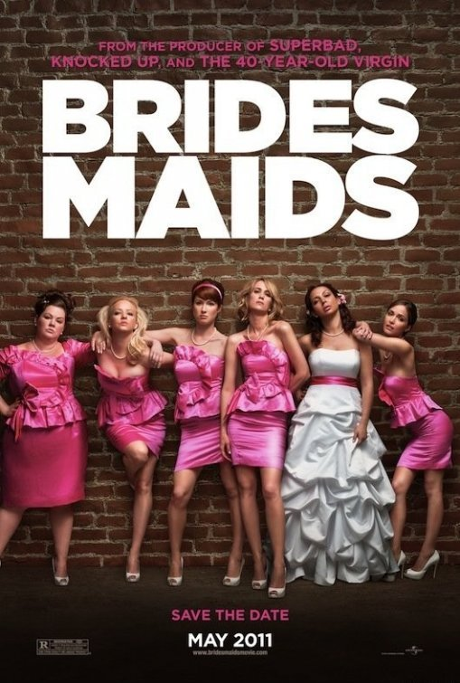 Bridesmaids Original Movie Poster  Double Sided 27 X40