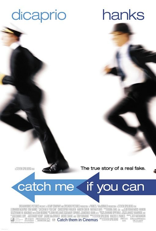 Catch Me If You Can Regular Original Movie Poster Double Sided 27x40