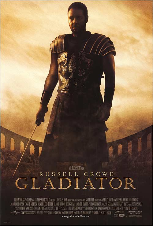 Gladiator Regular Original Movie Poster Double Sided 27x40