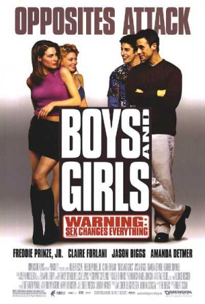 Boys and Girls Original Movie Poster Single Sided 27x40