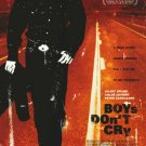 Boys Don't Cry Original Movie Poster Single Sided 27x40