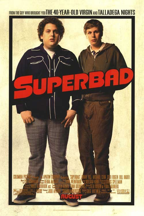 Superbad Regular Original Movie Poster Double Sided 27x40
