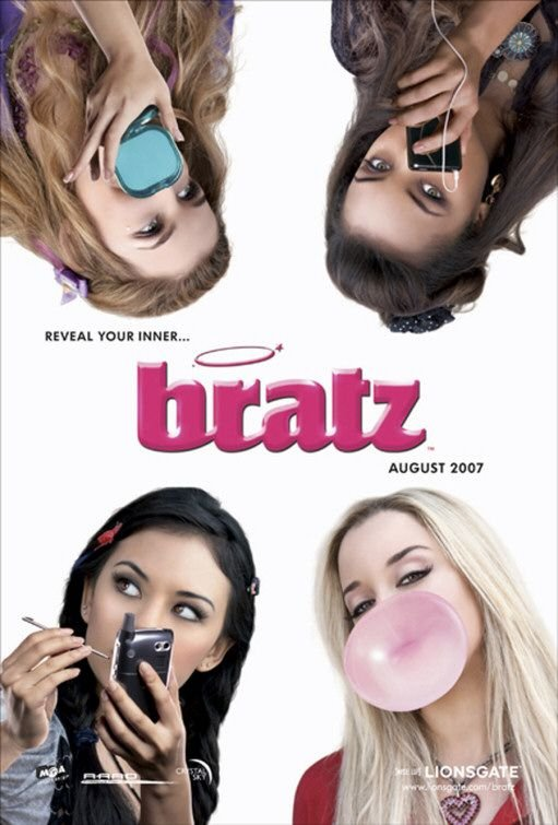 Bratz Advance Original Movie Poster Double Sided 27x40
