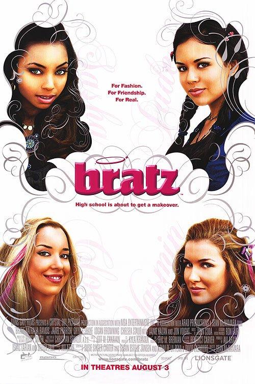 Bratz Regular Original Movie Poster Double Sided 27x40
