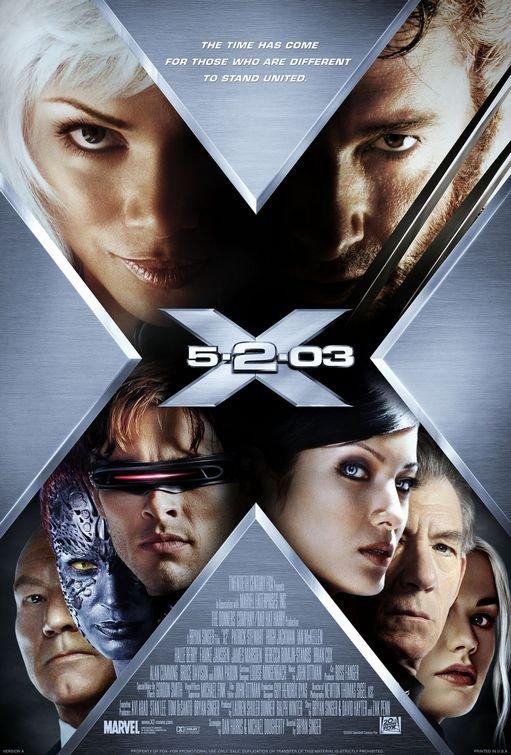 X-Men 2 Version B Original Movie Poster Double Sided 27x40