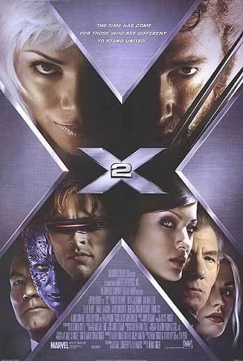 X-Men 2 International Version B Original Movie Poster Double Sided 27x40
