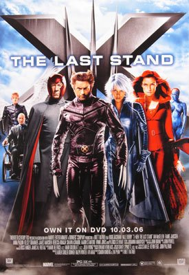 X-Men 3 Dvd Poster Original Movie Poster Single Sided 27x40
