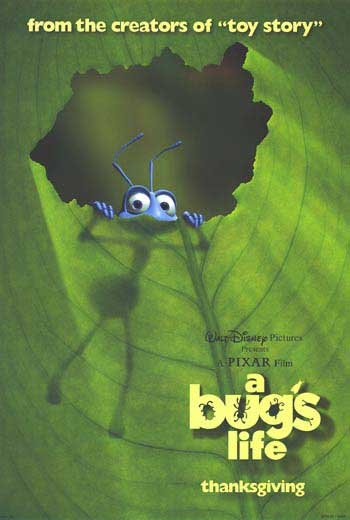 A Bug's Life Version C Original Movie Poster  Double Sided 27 X40