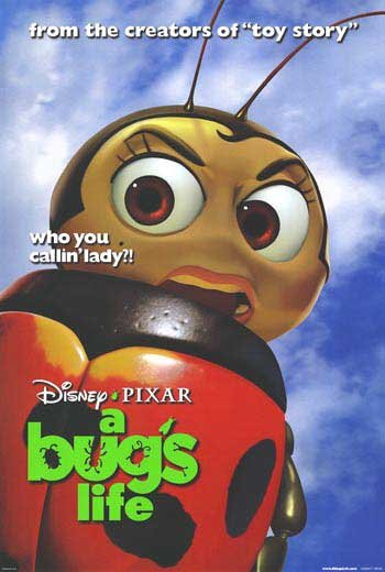 A Bug's Life Version F Original Movie Poster  Double Sided 27 X40