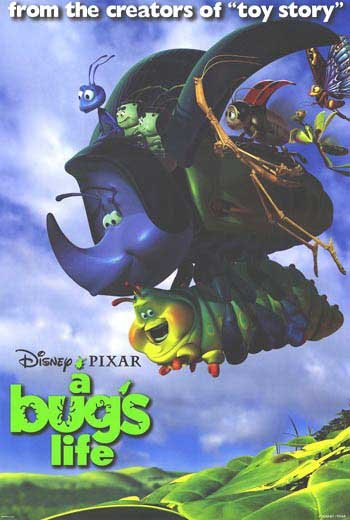 A Bug's Life Version G Original Movie Poster  Double Sided 27 X40