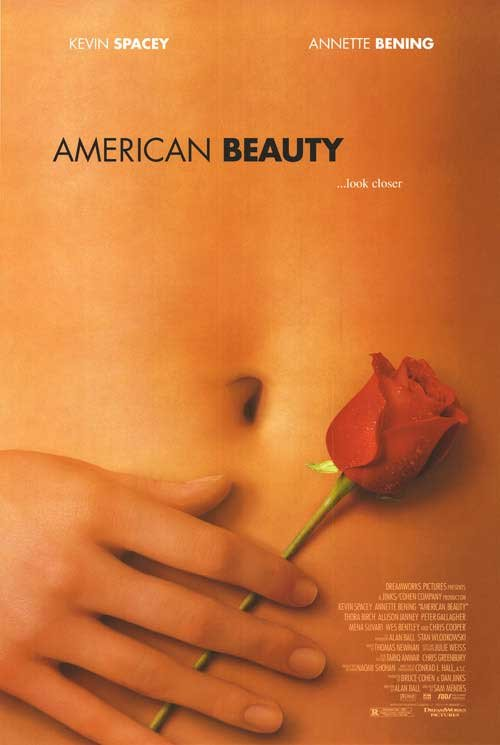 American Beauty Original Movie Poster Double Sided 27 X40