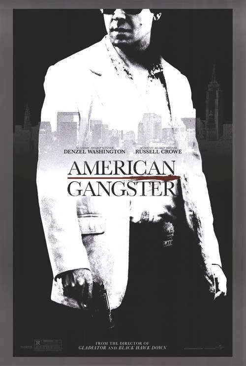 American Gangster Russel Crowe Original Movie Poster Single Sided 27 X40