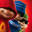 Alvin and the Chipmunks Version B Original Movie Poster Double Sided 27 X40