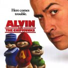 Alvin and the Chipmunks Version A Original Movie Poster Double Sided 27 X40