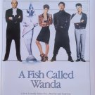 A Fish Called Wanda Dvd Poster Original Movie Poster Single Sided 27x40