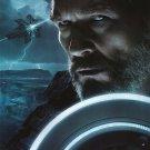 Tron Legacy Version C ( Jeff Bridges) Original Movie Poster  Double Sided 27 X40
