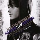 Justin Bieber : Never Say Never  Original Movie Poster  Double Sided 27 X40