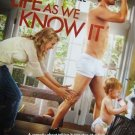 Life As We Know It Original Movie Poster  Double Sided 27 X40