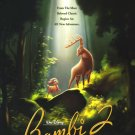 Bambi 2 Original Movie Poster Double Sided 27x40