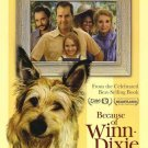 Because of Winndixie Single Sided Original Movie Poster 27x40