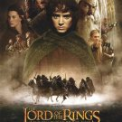 Lord of the Rings : Fellowship of the Ring Regular  Double Sided Original Movie Poster 27x40