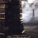 Lord of the Rings : Two Towers Advance Double Sided Original Movie Poster 27x40