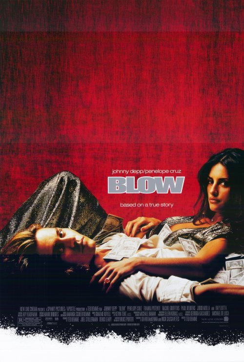 Blow Double Sided Original Movie Poster 27x40